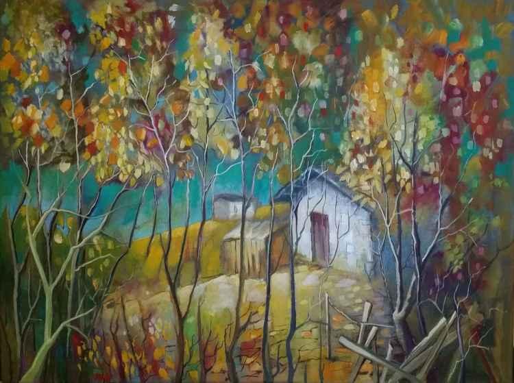 Autumn - 100 x 80cm
