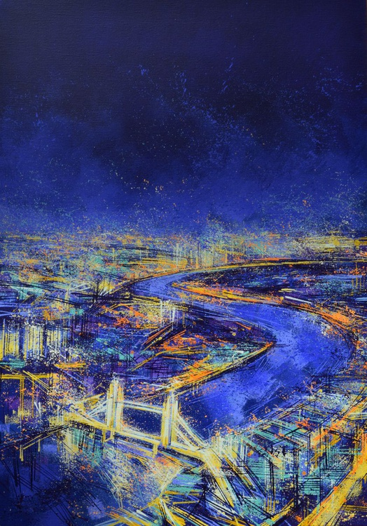 The City At Night (view from The Shard) - Image 0