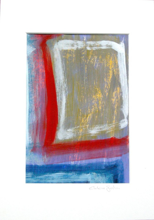Lifting - in 24 x 33 cm Frame - Image 0