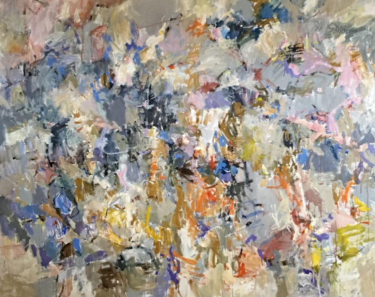 I Changed My Mind - Large Abstract Painting - Image 0