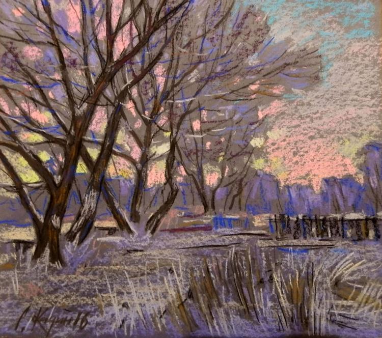 pink evening - Image 0