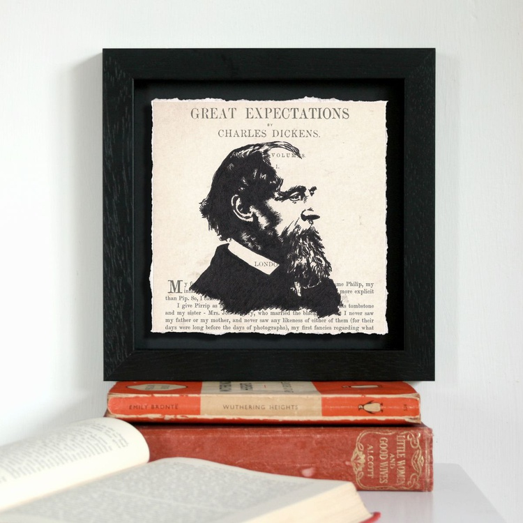 Great Expectations - Charles Dickens (Framed) - Image 0