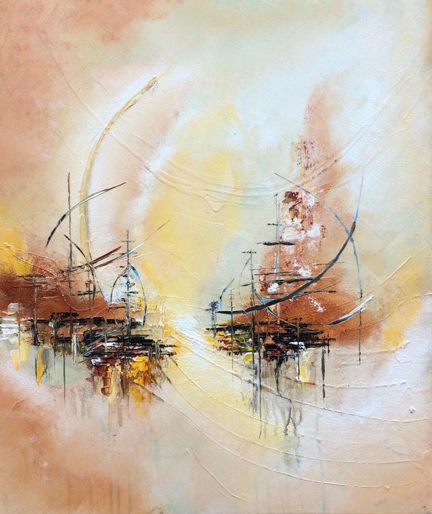"""Somewhere II "" ,  Abstract Acrylic Painting - 50x60cm - Image 0"