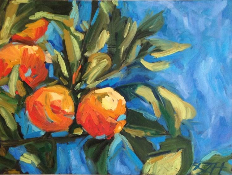 """Aranci II""  Original Oil Painting, Italy - Image 0"