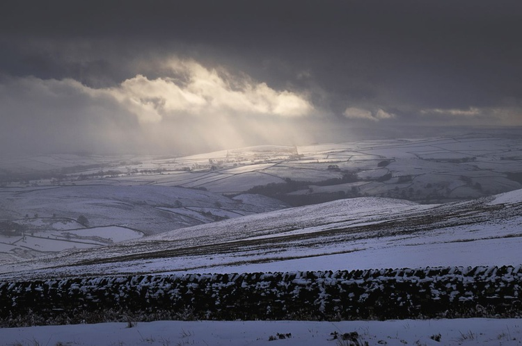 StormLight In The Dales (Ltd Edition of only 20 Fine Art Giclee Prints from an original photograph.) - Image 0