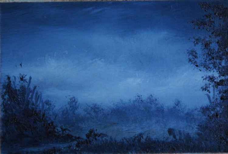 Blue Mist- Miniature