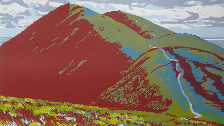 Ill Bell from Harter Fell - Image 0