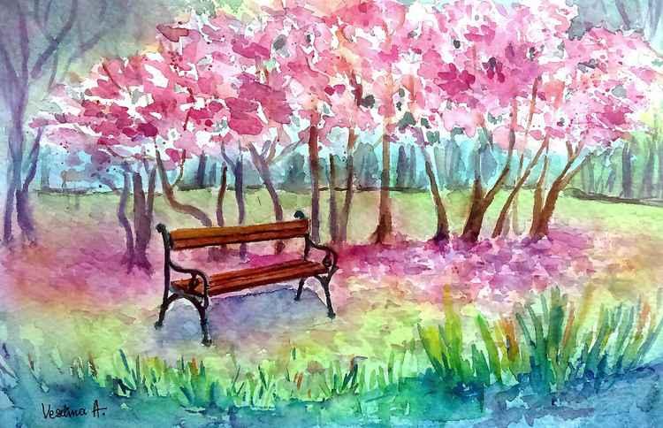 Spring landscape -