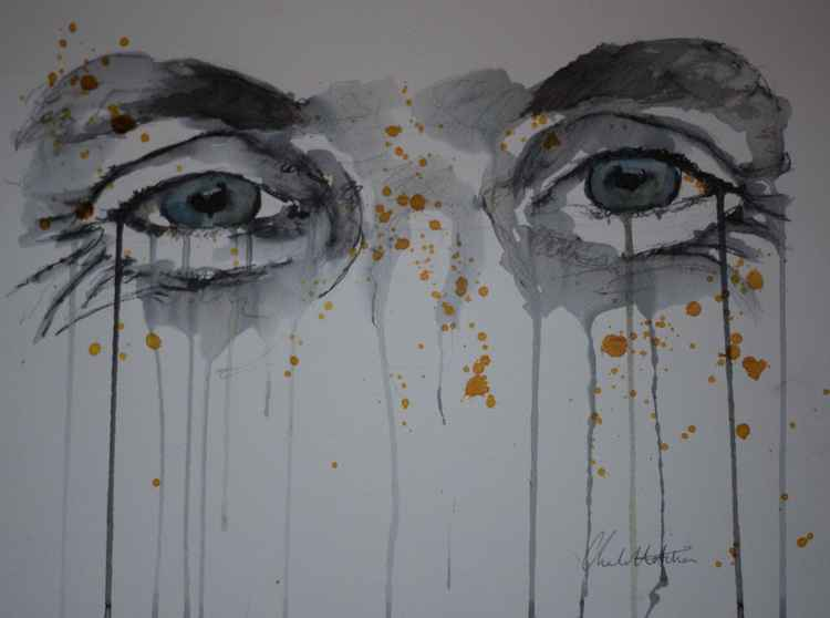 """Series of Eyes"" George -"