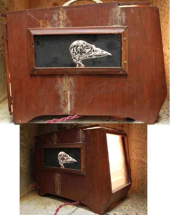 'Lightcage-Bird Skull I'