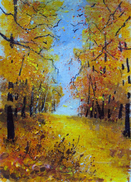 Golden Trees - Image 0