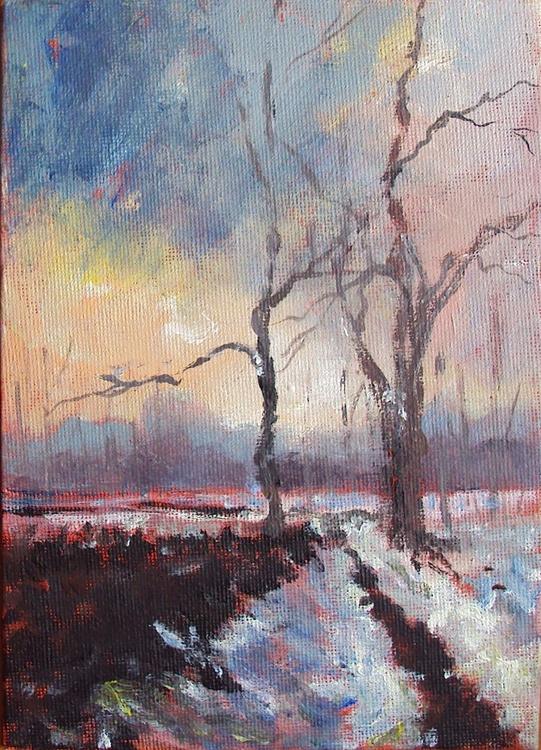 Winter Trees Landscape - Image 0