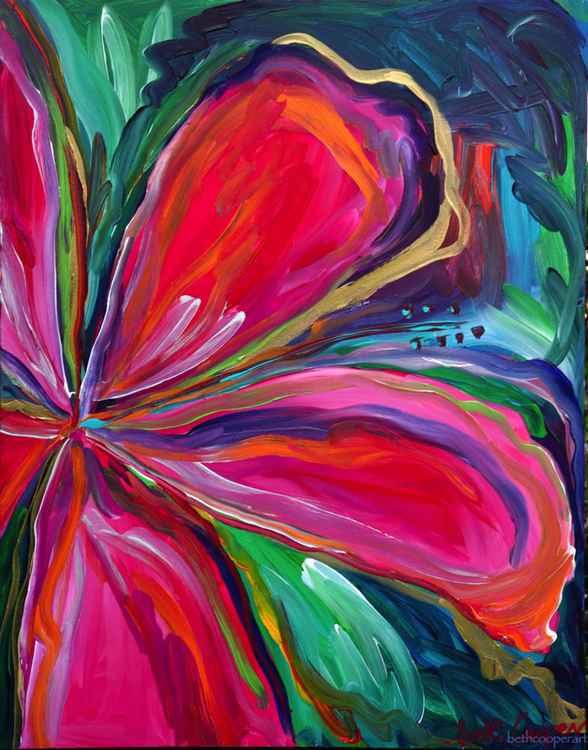 Pink Hibiscus -