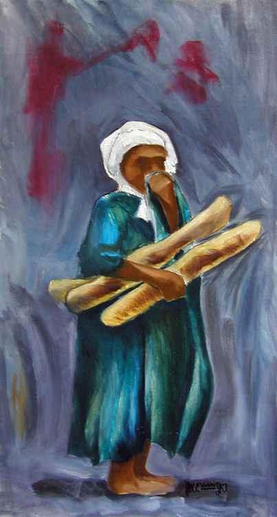 Boy With Bread -