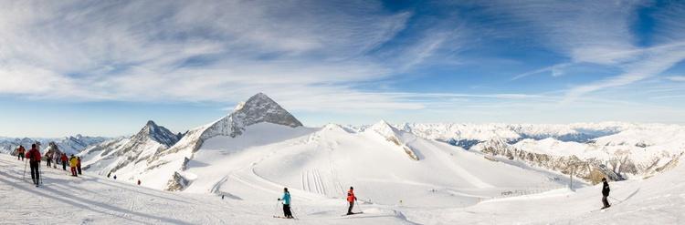 Hintertux Glacier, Zillertal. (145x51cm) - Image 0
