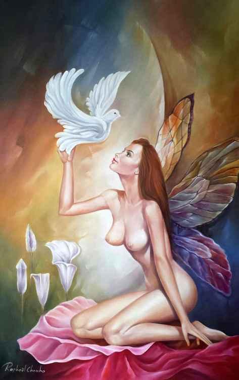 Butterfly Woman -
