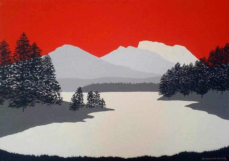 Ben Nevis from Loch Lochy, Scotland - Image 0