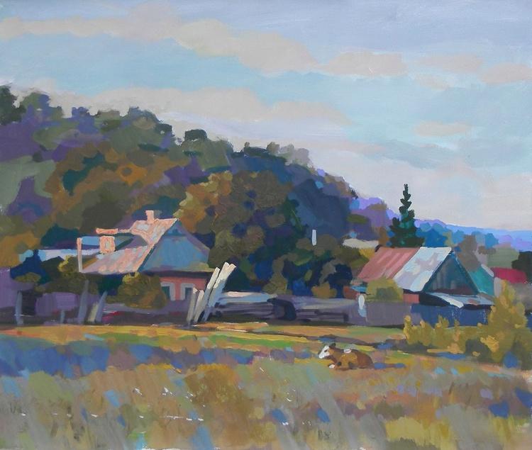 Landscape, 70x60 cm - Image 0
