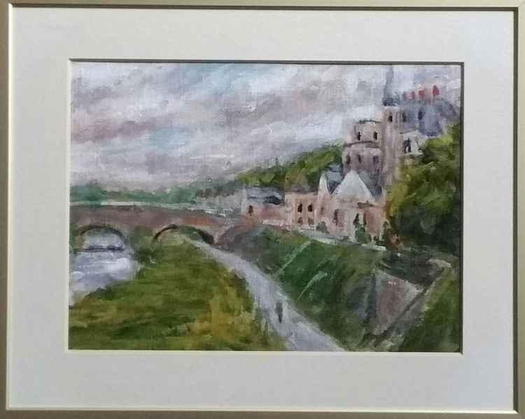 Castle next to Loire (Amboise) -