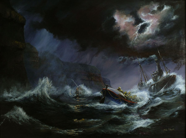 Plight of Scarbrouogh Lifeboat - Image 0