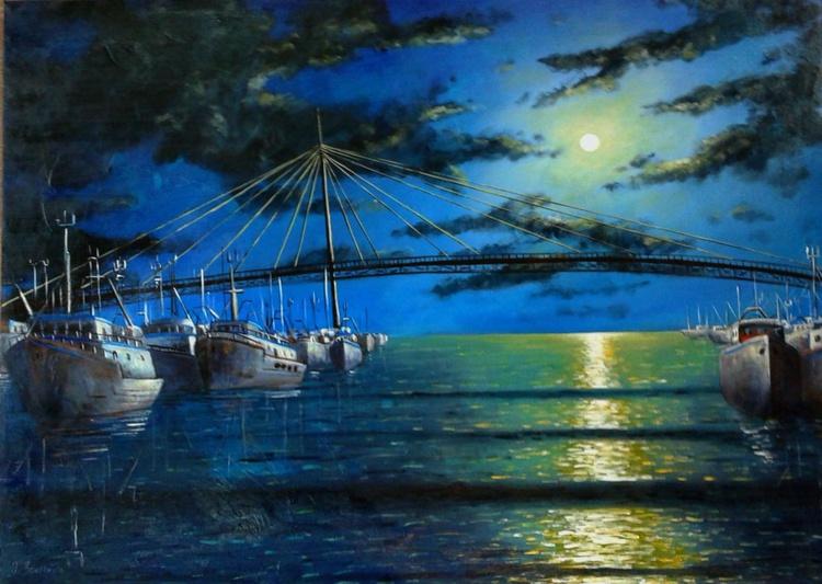 la luna sul mare - Image 0