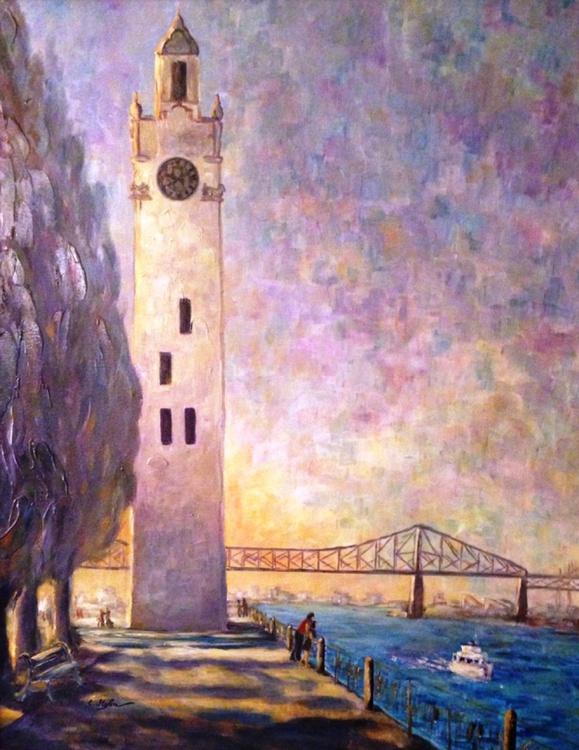 Clock Tower and Bridge - Cityscape - Image 0