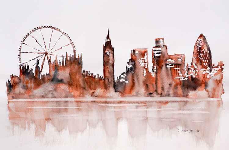 London skyline. v4 -