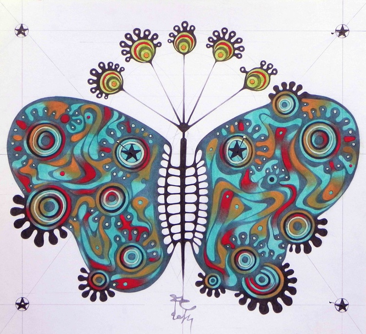 constellation butterfly - Image 0