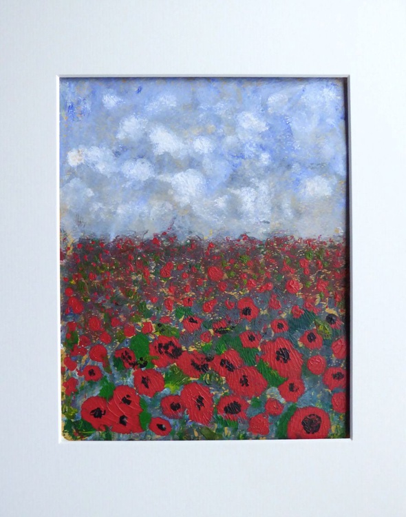 A field of poppies - Image 0