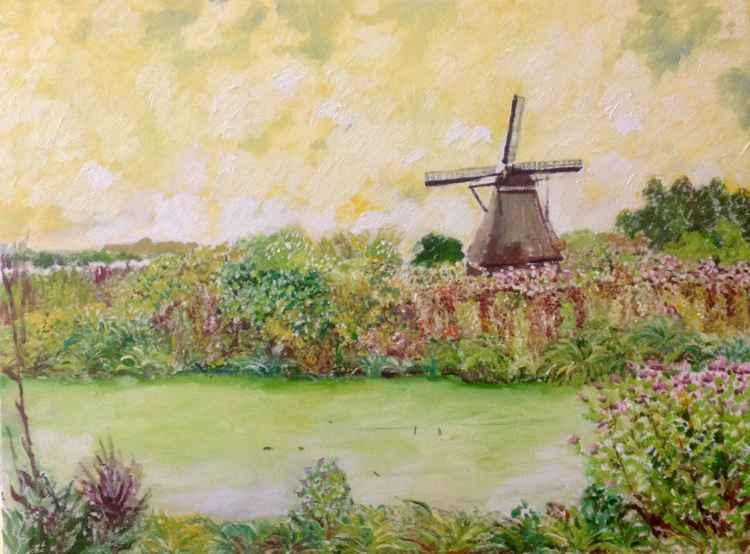 Fantasy windmills -