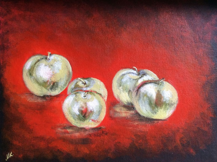The Green Apples. - Image 0