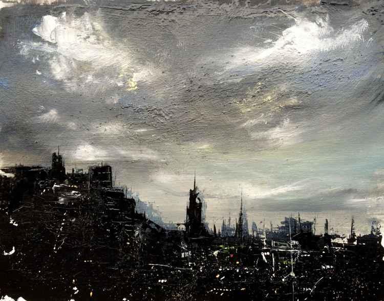 Edinburgh Silohuette -