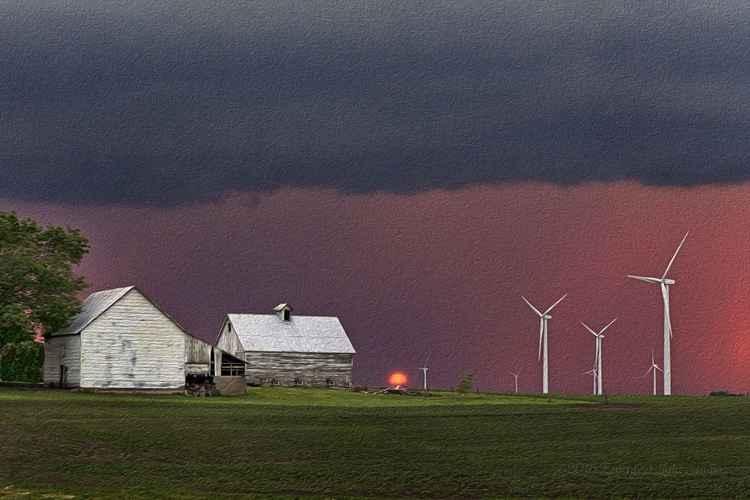Stormy Sundown