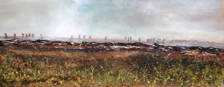 7.30am 1st July 1916. First day of the Battle of The Somme