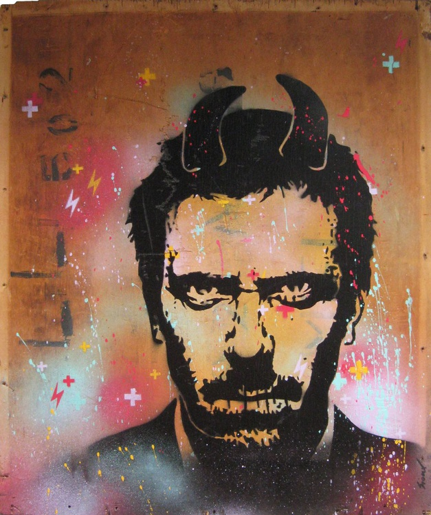 Silence Greg 2 (Hugh Laurie, House) - Image 0