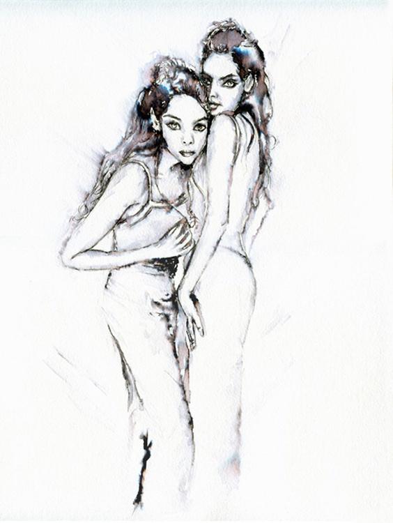 Twins / Ink - Image 0