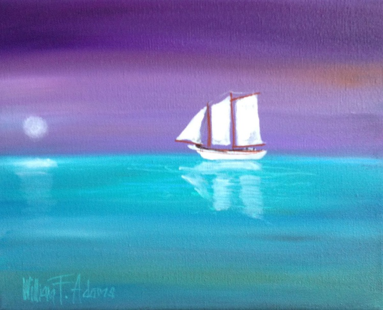 Sailing over an Azure Sea - Image 0