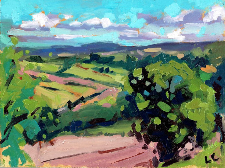 Bare Summer Fields, The Brecon Beacons - Image 0