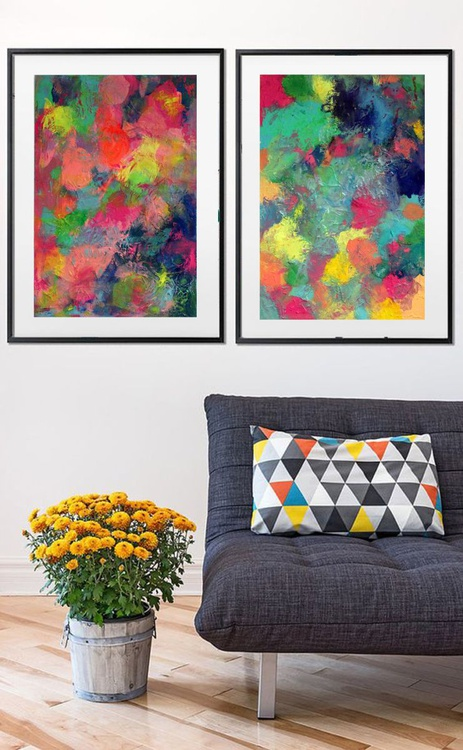 Explosion of Sweetness - DIPTYCH - Image 0