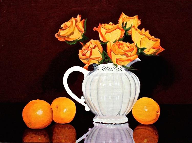 Orange Roses & Orange Oranges - Image 0
