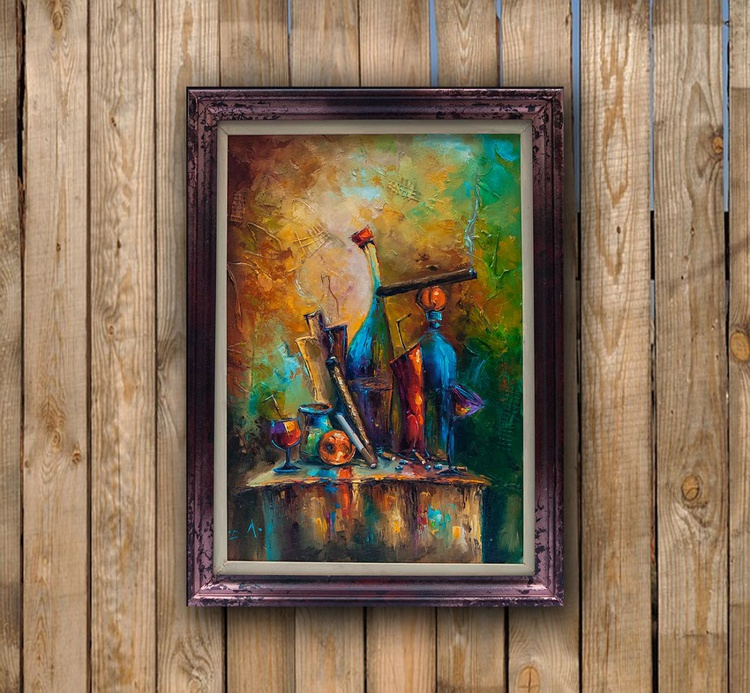 The artist is the rest, Still life Painting - Image 0