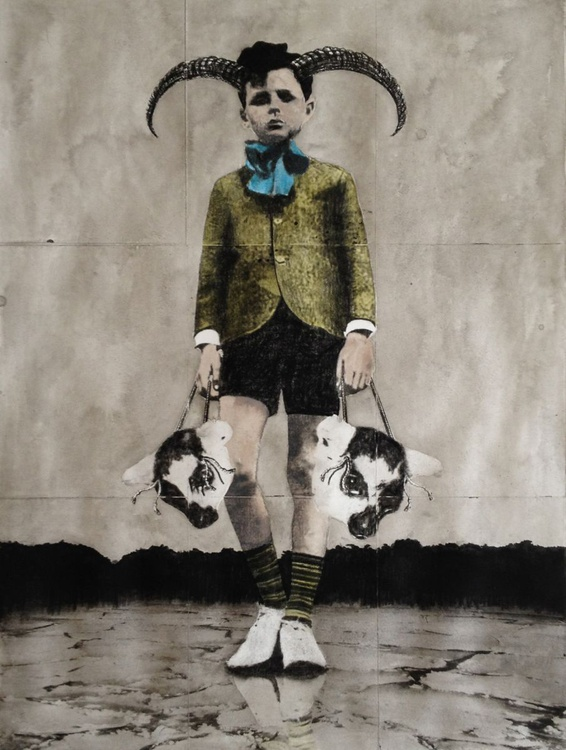 The Boy and The Masks - color version - Image 0