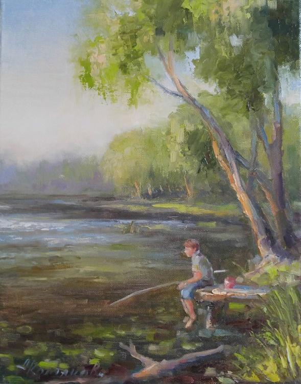 YOUNG FISHERMAN 2 11x14'' - Image 0