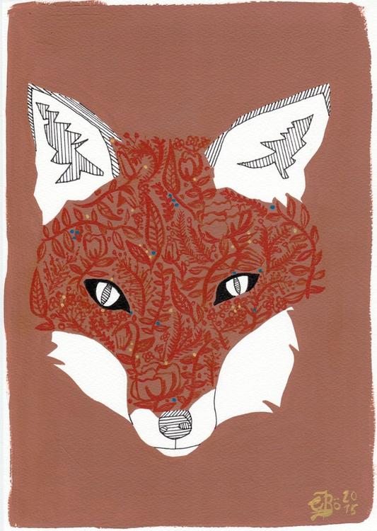 The Flower Fox - Image 0