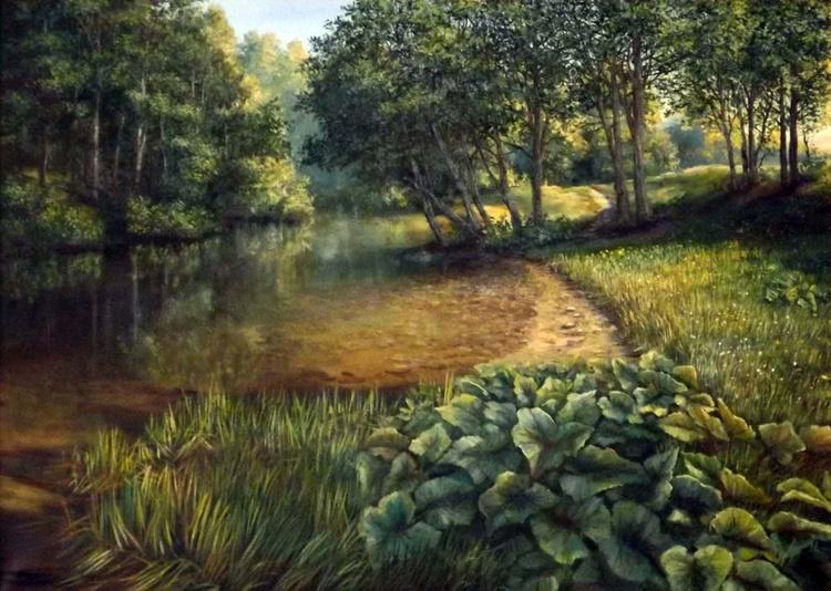 Forest River (Framed) - Image 0