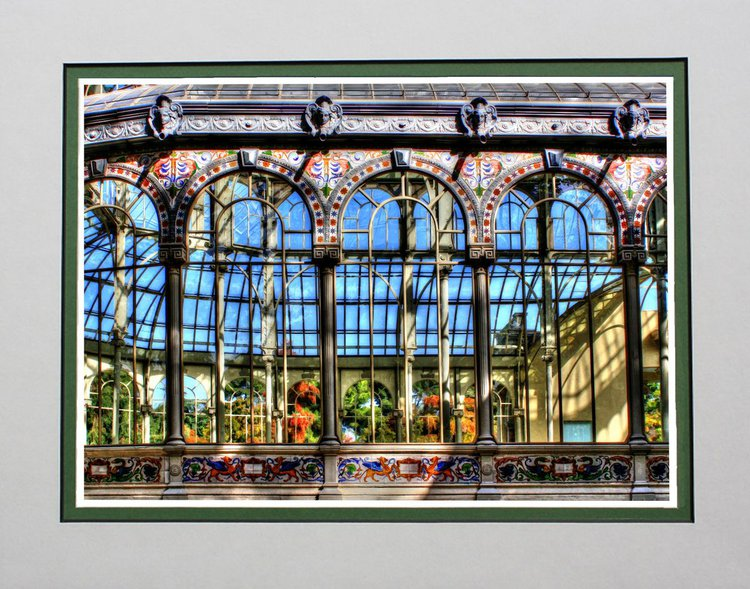 Outside Crystal Palace, Palacio Cristal, Madrid | Artfinder