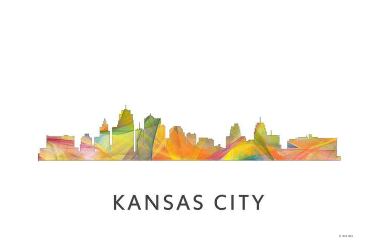 Kansas City Missouri Skyline WB1 -