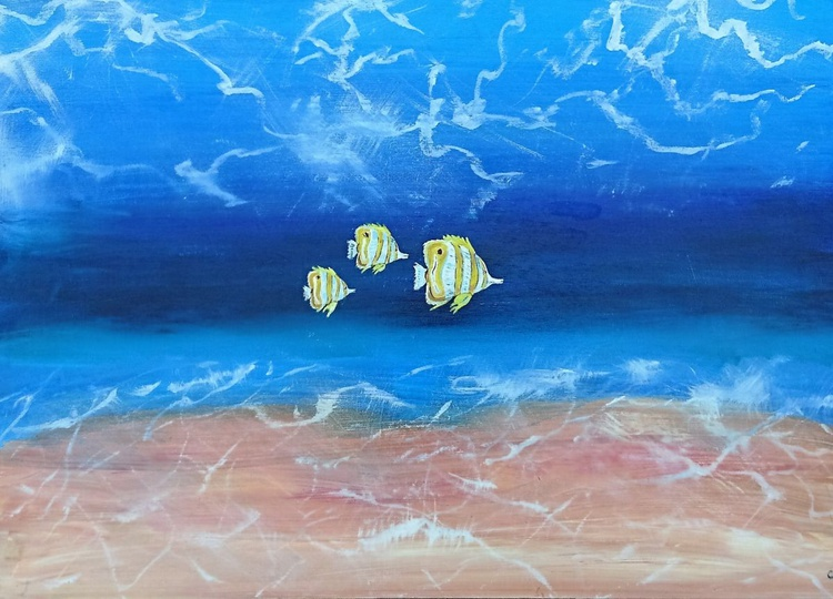 Butterfly fish under the sea - Image 0