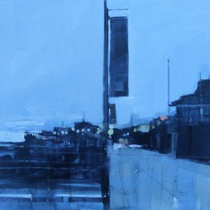Empty promenade at dawn, Eastbourne. 2 Jan  by Julian Sutherland-Beatson