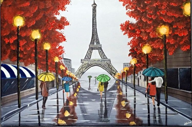 Raining At The Eiffel - Image 0